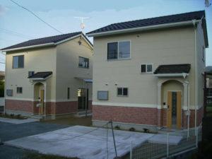 南欧風の上品さを演出した戸建賃貸住宅